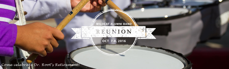 Tshirt design for alumni homecoming - Wildcat Alumni Band Reunion Delet